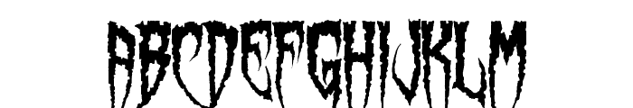 Spiderfingers Font LOWERCASE