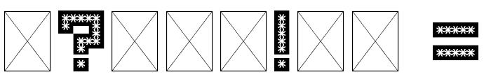 Spiderling Regular Font OTHER CHARS