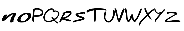 Spiderman-Homecoming Font LOWERCASE