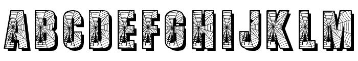 Spiderman Font UPPERCASE