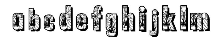 Spiderman Font LOWERCASE