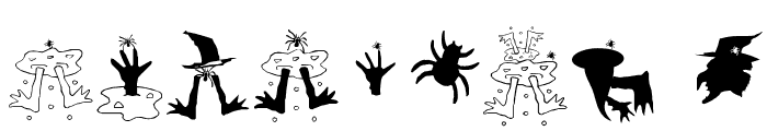 SpidersClub Font OTHER CHARS