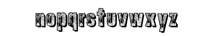 Spiders Font LOWERCASE