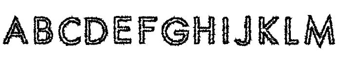 Spike Crumb Swizzle Font UPPERCASE