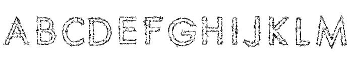 Spike Crumb Swizzle Font LOWERCASE