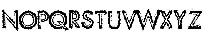 Spike Crumb Swollen Font LOWERCASE