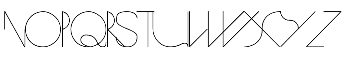 Spike Font LOWERCASE