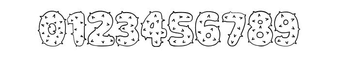 Spiky Regular Font OTHER CHARS