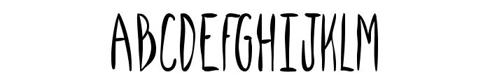 SpillMilk Font UPPERCASE