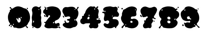 Spilt Ink Font OTHER CHARS