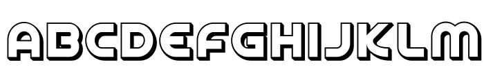 SpinCycle3DOT Font UPPERCASE
