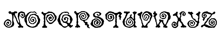 Spinstee Font UPPERCASE