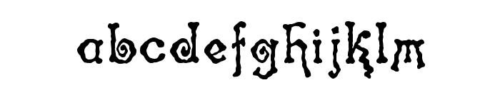 Spinstee Font LOWERCASE