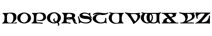 Spiral Initials Font LOWERCASE