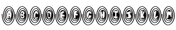 SpiralOdellic Font UPPERCASE