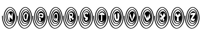 SpiralOdellic Font LOWERCASE