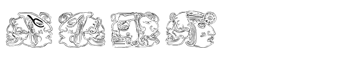Spirit of Montezuma Five Font OTHER CHARS