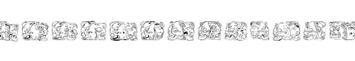 Spirit of Montezuma Five Font UPPERCASE