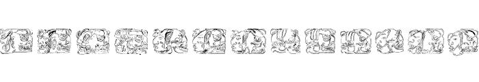 Spirit of Montezuma Five Font LOWERCASE