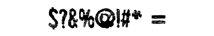 SpiritGinger Font OTHER CHARS