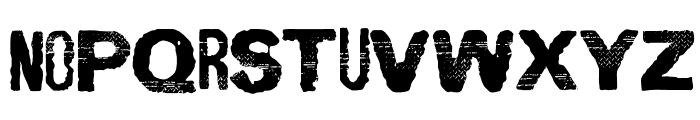 SpiritGinger Font UPPERCASE