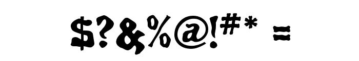 Spirits Regular Font OTHER CHARS