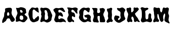 Spirits Regular Font UPPERCASE