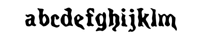 Spirits Regular Font LOWERCASE