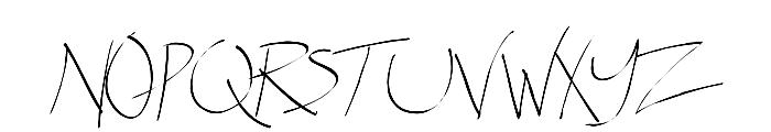 Spitter Font UPPERCASE