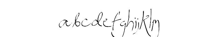 Spitter Font LOWERCASE