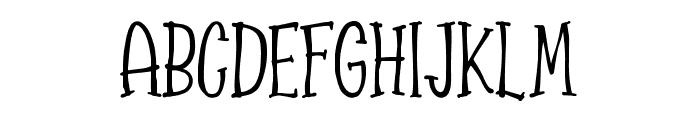 Spizzella Free Font UPPERCASE
