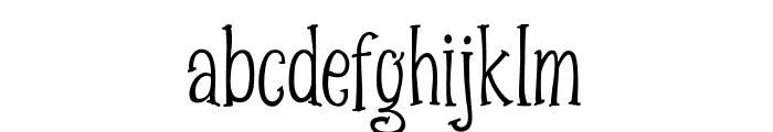 Spizzella Free Font LOWERCASE