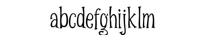 SpizzellaFree Font LOWERCASE