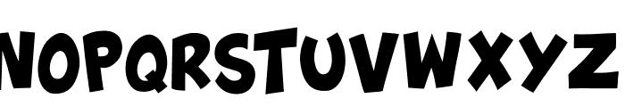 Splatch Font UPPERCASE
