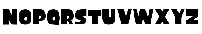 Splatfont Font UPPERCASE