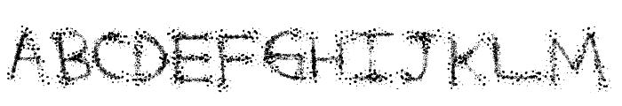 SplatterFuntime Font UPPERCASE