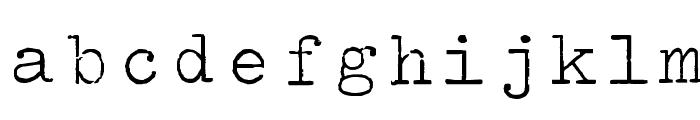 Splendid 66 Font LOWERCASE