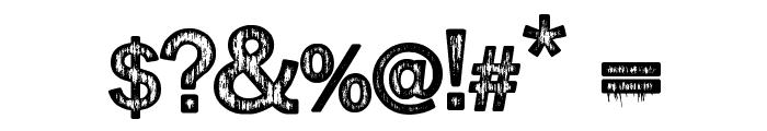 Splinter2 Font OTHER CHARS