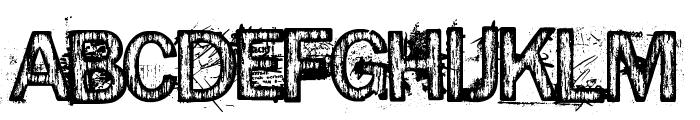 Splinter2 Font UPPERCASE