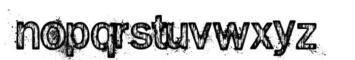 Splinter2 Font LOWERCASE