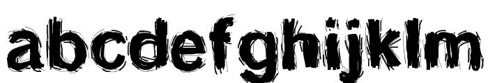 SplinterWood Font LOWERCASE