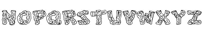 Splinters JL Font UPPERCASE