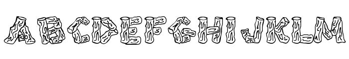 Splinters JL Font LOWERCASE