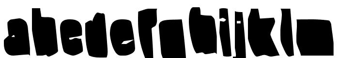 Splump Black Font LOWERCASE