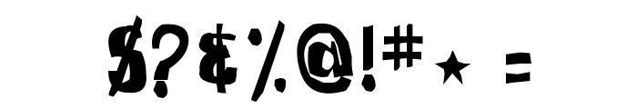 SpongeFont SquareType Font OTHER CHARS