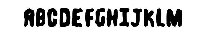 Spongeboy kontra Dusiciel Font LOWERCASE