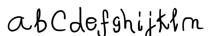 Spontifex Font LOWERCASE