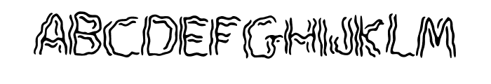 Spook Font UPPERCASE
