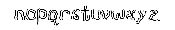Spook Font LOWERCASE