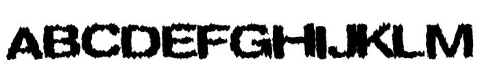 Spookies Font UPPERCASE